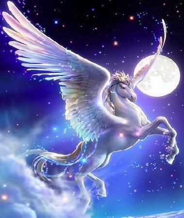 Пегас - крилатият кон Pegasus